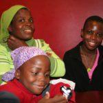 Familie aus Zimbabwe