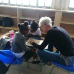 Ulrike, Freiwillige bei der Arbeit in der Aftercare 2019